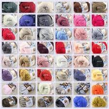 <b>Sale</b> New <b>1</b> Skein x <b>50 gr Soft</b> 100% Cotton Chunky <b>Super</b> Bulky ...