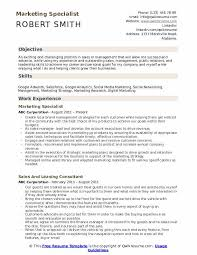 Marketing Specialist Resume Samples Qwikresume