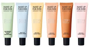 the color correcting primers consists of from left