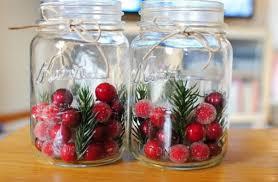 Christmas Decorated Mason Jars Glass Jar Christmas Crafts 100 Homemade Inspirations 49