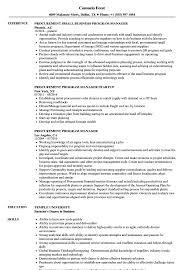 Procurement Program Manager Resume Samples Velvet Jobs