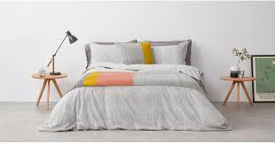 fleck 100 cotton bed set king grey uk bedding sets bedding made com