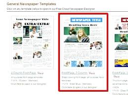 Newspaper Article Template For Pages Free Magazine Article Template Article Template Word Part 2 From The