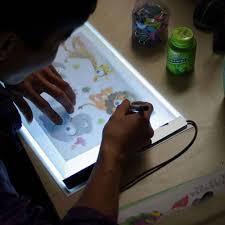 Artist Light Board Favolcano A4 Ultra Thin Portable Usb Power Led Light Pad