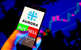 Acb Stock Chart Nyse Aurora Cannabis Posts Industry Best Gross Profit In Q1