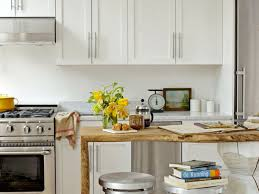 Decorating Small Kitchens Kitchen 7 Beautiful Small Kitchen Design With Orange Cabinet And