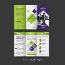 Trifold Template Trifold Brochure Vectors Photos And Psd Files Free Download