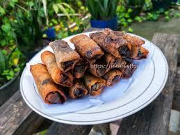 1 sendok makan garam untuk merendam pisang. Resep Pisang Coklat Isi Kurma Makanan Baru Wajib Dicoba Cooking Recipes Desserts Food Cooking Recipes