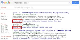 How To Cited By Searches In Google Scholar Citation