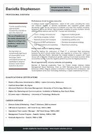 Australian Resume Sample – Kappalab