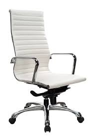 white leather office chair. Plain Chair Brilliant White Leather Desk Chair Ndi Office Furniture Segmented  Executive Swivel For A