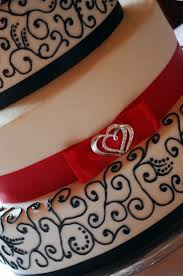 The 25 Best Red Oval Wedding Cakes Ideas On Pinterest Red Oval