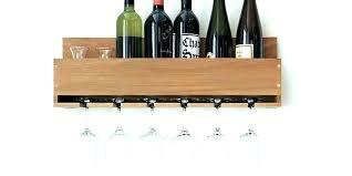 wall wine rack with glass holder wine racks wall mounted wine rack wall mounted wine glass