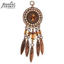 Hobby Lobby Dream Catcher Antique Copper Plated Dreamcatcher Pendant Hobby Lobby 100 40