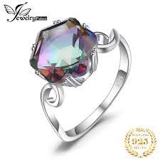 <b>Jpalace</b> Leaf <b>Simulated Nano</b> Emerald Pendant Necklace 925 ...