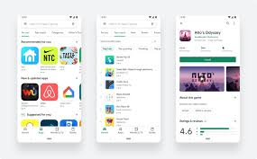Google Updates To A Cleaner Simpler Play Store Design