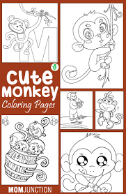 Top 25 Free Printable Monkey Coloring Pages Online Mm Race Car