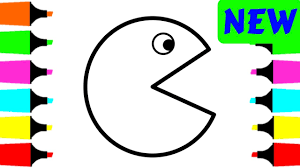 Pacman Coloring Pages - Eliolera.com