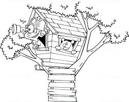 House Coloring Pictures House Colouring Pages Tree House Coloring