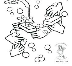 hand washing coloring page coloring pages germ page cute free printable hand washing colouring sheets for preschoolers hand hygiene coloring pages