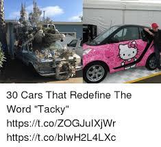 Word Cars 30 Cars That Redefine The Word Tacky Httpstcozogjuixjwr