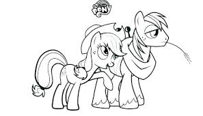 My Little Pony Coloring Pages Twilight Sparkle And Friends Pdf Color