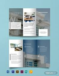 Real Estate Brochure Template Free Free Commercial Real Estate Brochure Template Word Psd