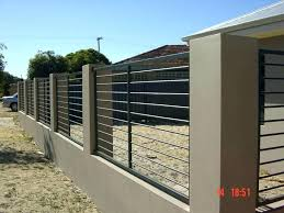 metal fence ideas. Modren Ideas Block Wall Ideas Cement Fence Gorgeous Metal Gate Designs  Cinder Retaining On