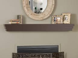 fireplace mantel shelf cascade