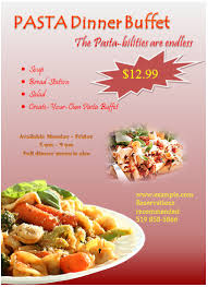 Fish Fry Flyer Microsoft Office 20 Free Food Flyer Templates Demplates