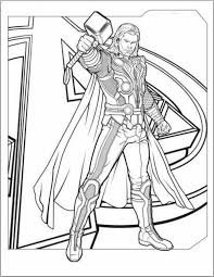Small Picture Thor Coloring Pages GetColoringPagescom
