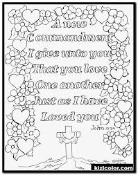 Here is a collection of some easy coloring pages for preschoolers for your young children. Love One Another Coloring Page 15 Love Page Kizi Free 2021 Printable Super Coloring Pages For Children Coloring Pages