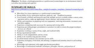 Hair Stylist Resume Example Cosmetology Resumes Examples Sample