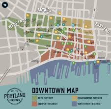 downtown map  portland downtown