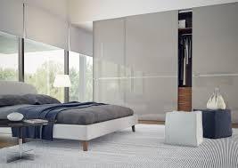 sliding door modern wardrobe glossy