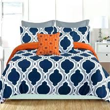 blue and orange bedding gray teal comforter bedspread queen grey bed sheets blue and orange bedding