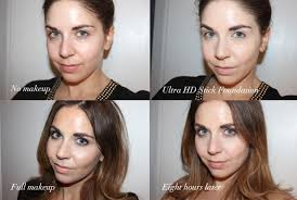 i am loving the stick formula it s so easy and fast to apply it s hanr and it s a fuller coverage they both rel for c 50 and if you