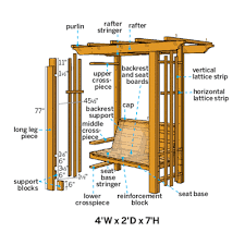 Small Picture How to Build an Arbor Bench Yards Arbors and Weather