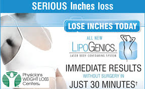 Triangle: LipoGenics Weight Loss Treatments! 5 Options to Choose From.