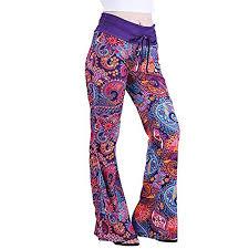Pajama Jeans Size Chart Fanteecy Womens Palazzo Pajama Pants Casual Boho Printed