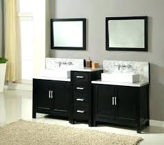 corner bathroom vanity with sink ideas master double inch white decorating enchanting