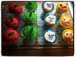 Thank You Teacher Cupcakes First Selling Attempt Baking Ideas