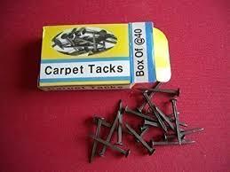 carpet tacks. carpet tacks 25mm (1\
