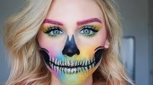 simple sugar skull makeup