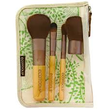 ecotools brushes. ecotools five piece travel collection 5 brushes