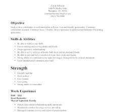 Resume Of Waitress Waiter Resume Waitress Resume Example Fresh ...