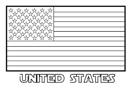 United States Flag Coloring Page Coloring Book