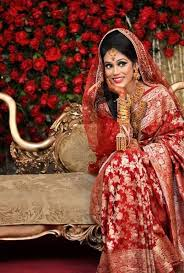 beautiful red traditional katan wedding saree in desh learn about diffe types of asian traditional wear