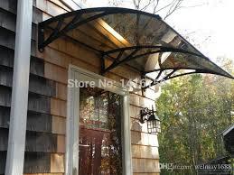 front door canopy2017 Ds120240 P120x240cmFront Door CanopyPlastic Bracket Door