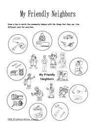 all worksheets acirc neighborhood worksheets for kindergarten all worksheets neighborhood worksheets for kindergarten 8 best images of in my community places worksheet